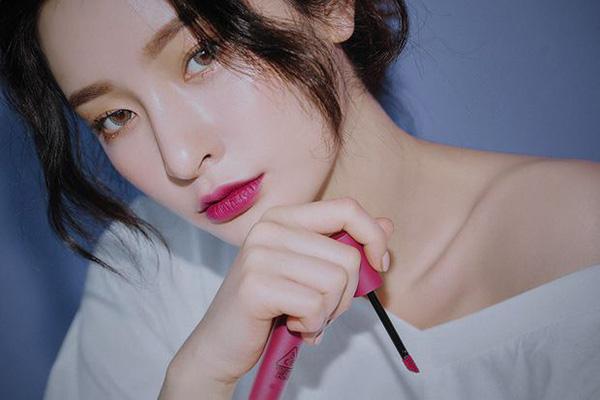 3CE Soft Lip Lacquer màu Almost Mauve (tím lạnh)