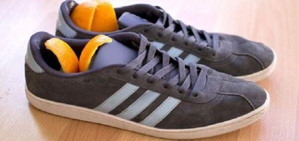 Khử mùi hôi của giày bằng cách sử dụng Lót giày bằng gỗ cây tuyết tùng