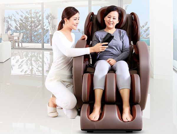Không nên lạm dụng ghế massage quá mức