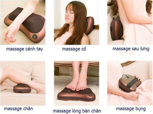 Có nên dùng gối massage thường xuyên không?