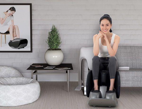Nên sử dụng máy massage chân 15 đến 30 phút mỗi ngày