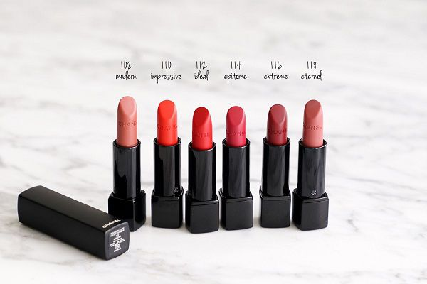 Son lì Chanel Rouge Allure Velvet