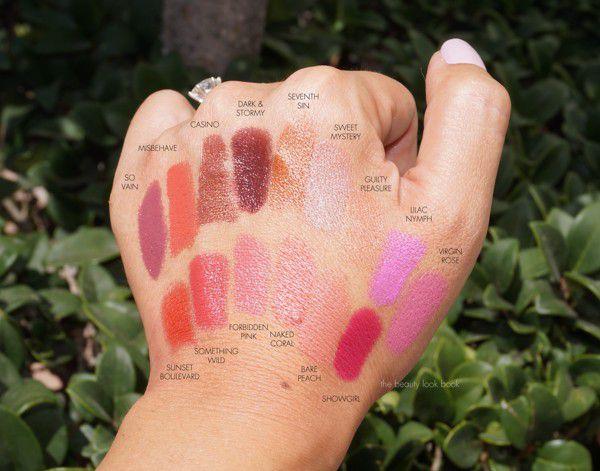 TF Lip Color là dòng son có nhiều màu nhất