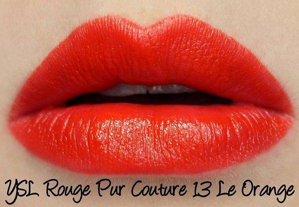 #13 Le Orange màu Đỏ cam