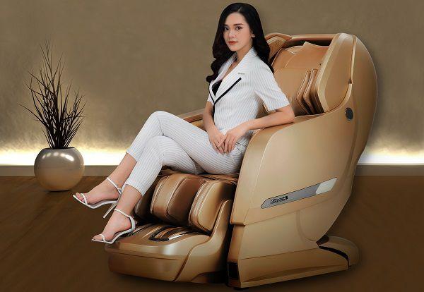 Ghế massage Okia eMonarch LX Gold