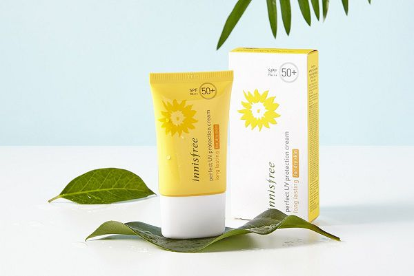 Innisfree Perfect Uv Protection Cream Long Lasting/For Dry Skin