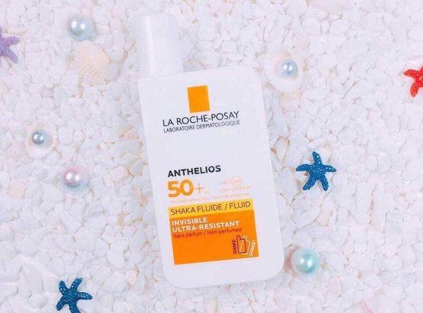 Anthelios Shaka fluid SPF50+ dùng cho mặt phù hợp mọi loại da