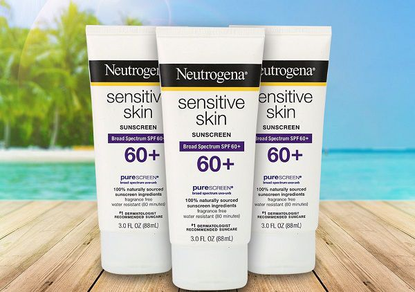 Neutrogena Sensitive Skin Sunscreen SPF 60+ (da nhạy cảm)