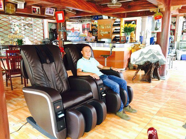 Có nhiều chi phí phải bỏ ra khi kinh doanh ghế massage tính tiền