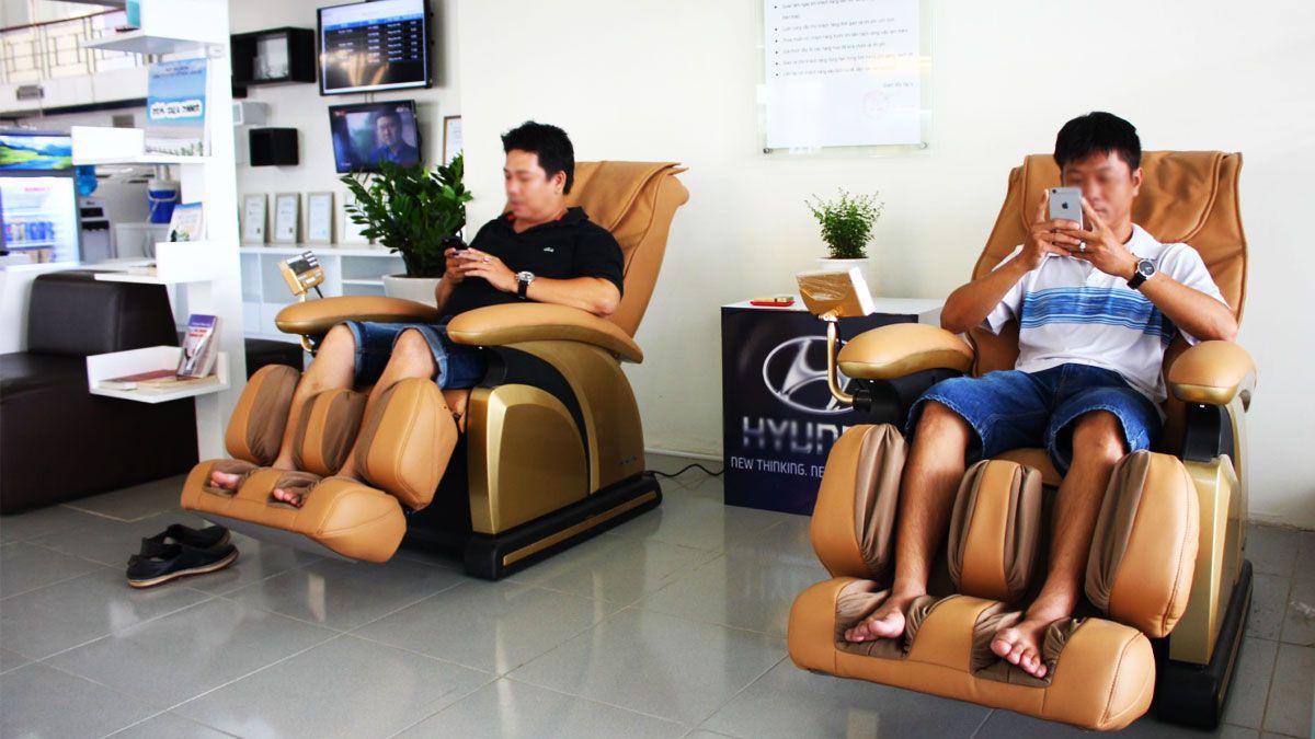 Kinh doanh ghế massage tính tiền