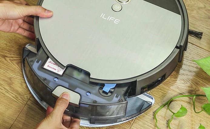 Trải nghiệm sử dụng robot hút bụi Ilife V8S