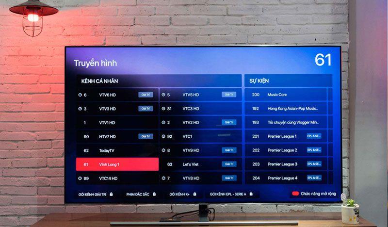 Xem truyền hình trên FPT Play Box+