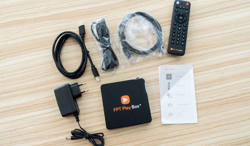 Bộ sản phẩm FPT Play Box 2019