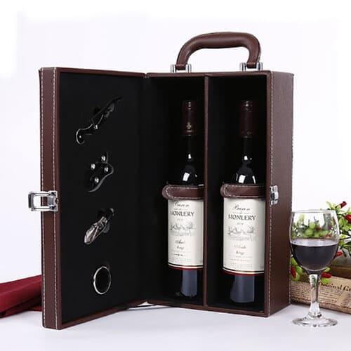 Hộp quà tết rượu vang