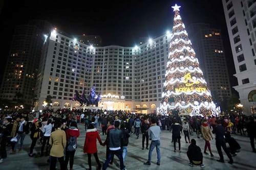 Khu đô thị Royal City trong dịp lễ Giáng Sinh
