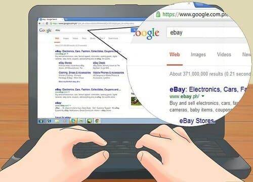 Mua hàng qua dịch vụ mua hàng eBay
