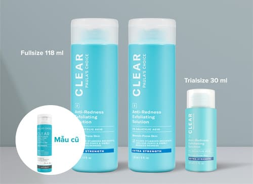 Paula's choice Clear Extra Strength Anti - Redness Exfoliating Solution