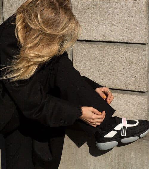 Sneaker Prada - Dấu ấn riêng của sự luxury