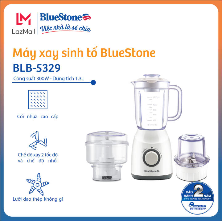 Máy xay sinh tố BlueStone BLB-5329 (1,3L)