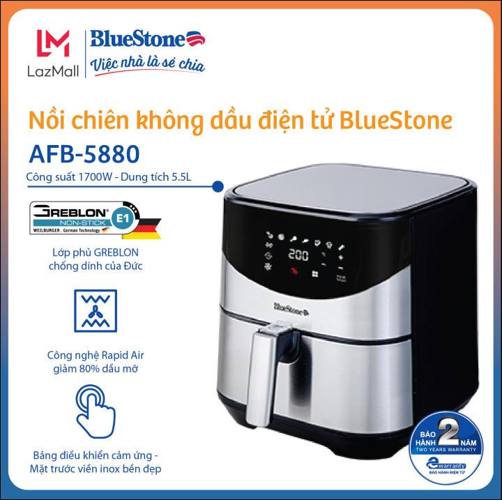 Nồi Chiên Không Dầu Điện Tử BlueStone AFB-5880 (5,5 Lít)