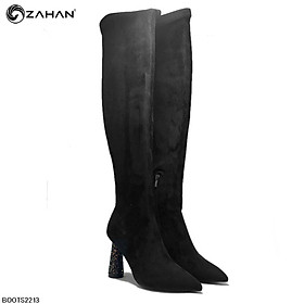 Boots nữ gót nhũ BOOTS2213 (7cm)