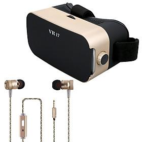 Combo kính VR i7 và tai nghe Yled G63