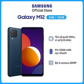 Điện Thoại Samsung Galaxy M12 (3GB/32GB)