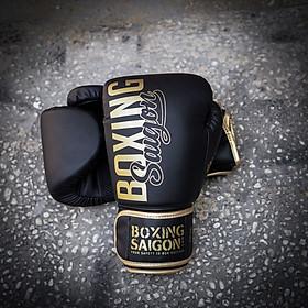 Găng tay Boxing Saigon Inspire (Black/Gold)