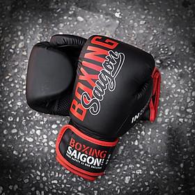 Găng tay Boxing Saigon Inspire (Black/Red)
