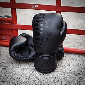 Găng tay Boxing Saigon Inspire (Matte Black)