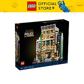 LEGO ICONS 10278 Trạm Cảnh Sát (2923 chi tiết)