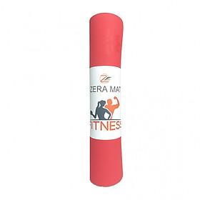 Thảm tập yoga Fitness Zera TPE 1 lớp (8mm)