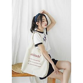 Túi Vải Tote Bag Phong Cách Nhật Bản
